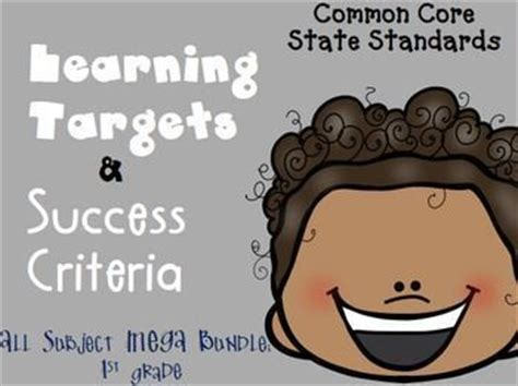 printable common core learning targets best 25 success criteria ideas on pinterest learning