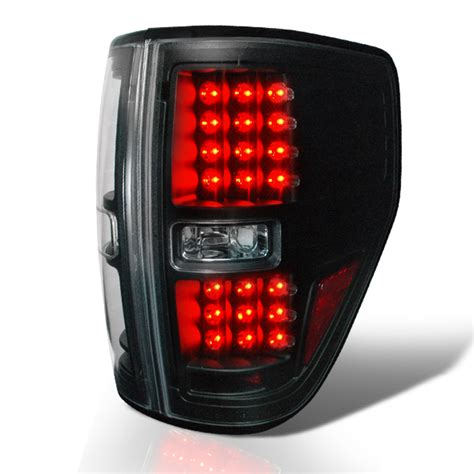 2009 2014 ford f150 pickup performance led tail lights black