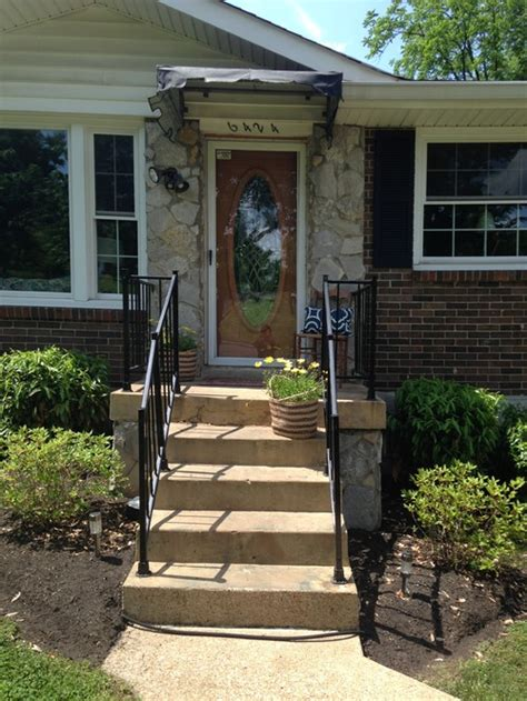 Steps To Front Door Need Help To Select Front Door Rail And Step Colors