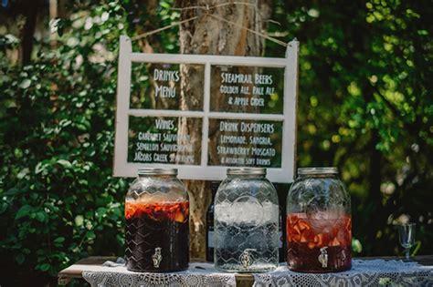Backyard Wedding Bar Ideas Colorful Eclectic Backyard Wedding Gabe Mcclintock Diy
