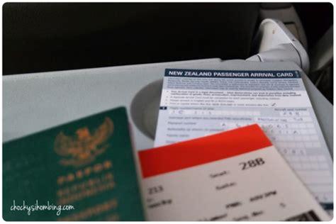 membuat visa ke new zealand itinerary new zealand chocky sihombing