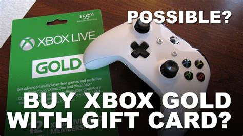 How To Use A Xbox Gift Card - can i use xbox gift card to buy xbox live gold youtube