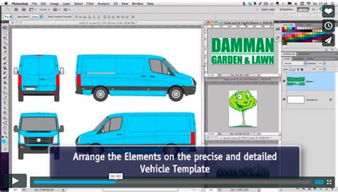 5 Tips To Get You Started In Vehicle Wrap Design Trailer Wrap Design Templates