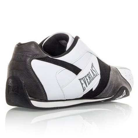 everlast cagefighter mens casual shoes white black