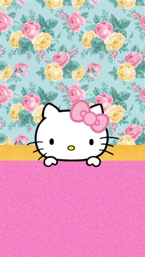 hello kitty removable wallpaper 248 best my creations images on pinterest background