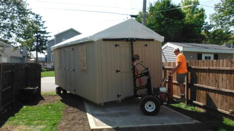 Shed Delivery Trailer by Wisconsin Shed Delivery Pre Built Custom Storage Sheds