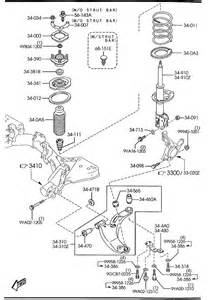 mazda protege 5 front suspension mechanisms