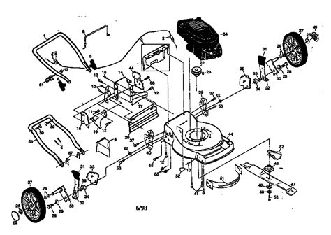 sears lawn tractor parts diagram sears mower parts diagram imageresizertool