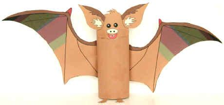 dltk toilet paper roll crafts bat toilet paper roll craft