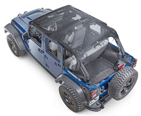 Jeep Mesh Top Vertically Driven Products 50714 Vdp Koolbreez Brief