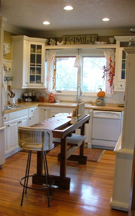 narrow kitchen island kitchen pinterest