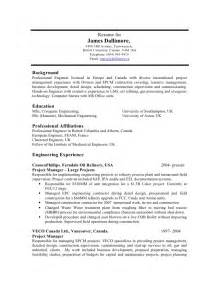 Gas Plant Operator Sle Resume by Resume Doc