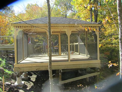 rectangular gazebo perth  north country sheds