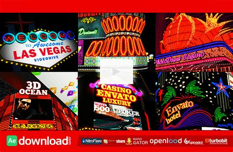 free vegas templates my las vegas free videohive template free after