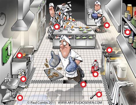 Kitchen Hazards Hazard Spotting In The Kitchen Thinglink