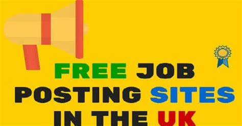 Free Job Portals To Search Resumes by 16 Free Job Posting Sites In Uk Where Employers Can Post
