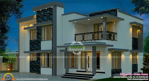 indian home design plans with photos beautiful south indian home design kerala home design