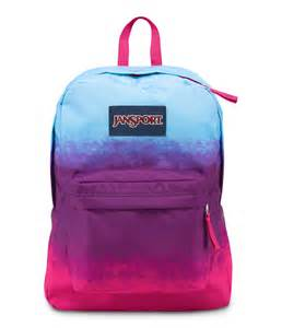 Swarovski Crystal Home Decor Jansport Superbreak Backpack Purple Night Color