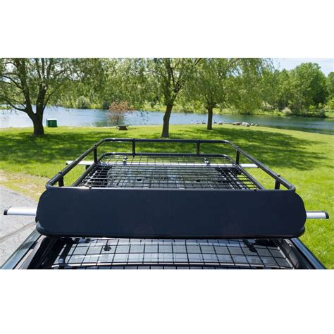 Auto Roof Racks by Steel Car Roof Rack Basket With Wind Fairing Rbc 4938hd