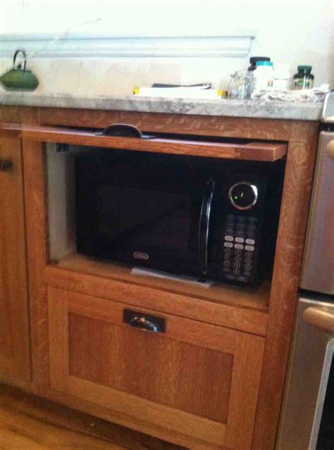 microwave pantry cabinet  microwave insert home