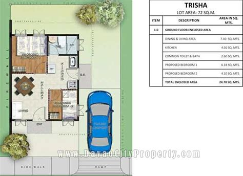 low cost cabin plans affordable housing at greenwoods subdivision mintal davao city