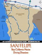 san felipe maps and driving
