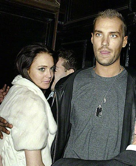 Lindsay Lohan And Calum Best Fight It Out by Big Calum Best Opens Up About Lindsay