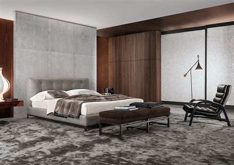 letti minotti letto andersen bed quilt serie andersen system by minotti