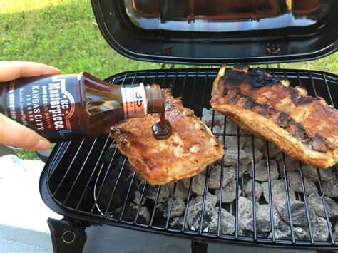 Grilling Rack Of Ribs by How To Make Bbq Ribs On A Charcoal Grill Recipe