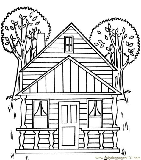 coloring pages of houses house coloring pages coloring home