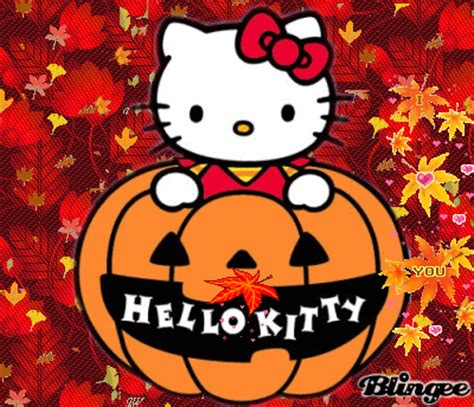 hello kitty autumn wallpaper hello kitty autumn picture 116335825 blingee com