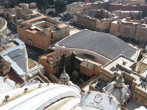 ingresso sala nervi vaticano aula paolo vi o sala nervi di roma monumento arte it