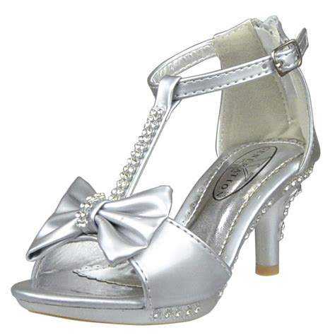 high heel pageant shoes s pageant t bow rhinestone high heel dress