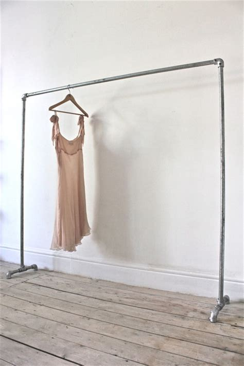 Industrial Clothing Rack by Industrial Furniture And Accessories Modern