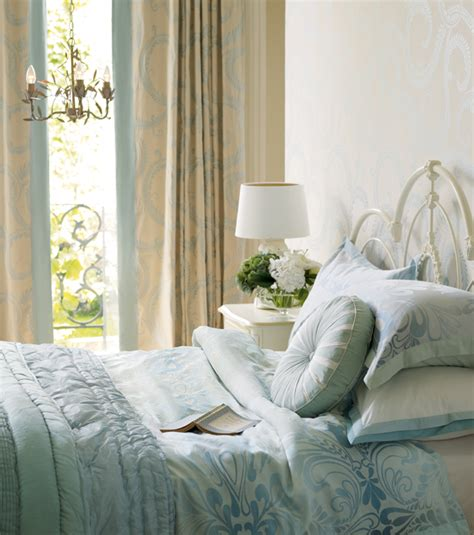 Duck Egg Blue Bedroom Designs Casual Country House Style