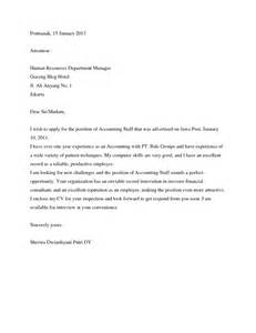 Cover Letter For Staff Accountant by Cover Letter Accounting Firm