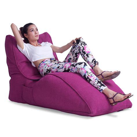 pink sofa new zealand home cinema indoor bean bag avatar lounger sakura pink