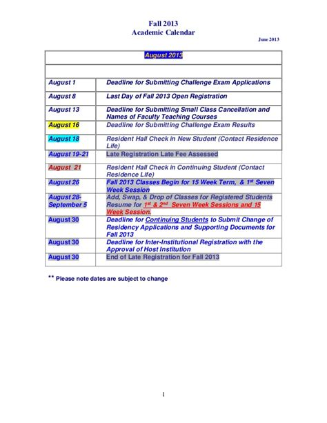 Eku Calendar Search Results For Eku Academic Calendar Fall 2013