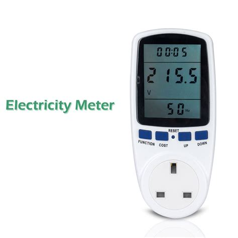 new plug in electricity power consumption meter energy