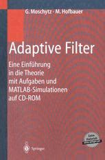 adaptive filtering primer with matlab electrical engineering primer series books adaptive filter springer