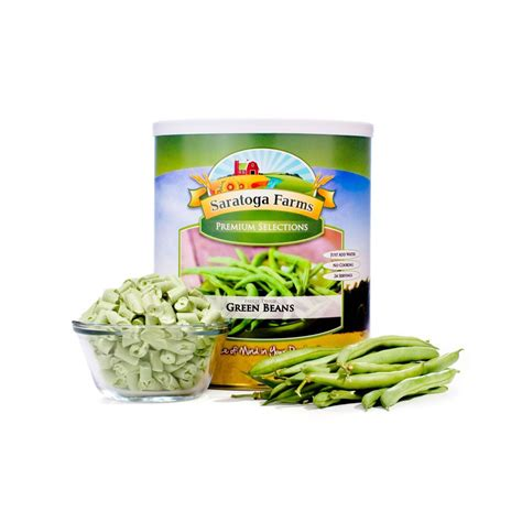 Shelf Of Green Beans by Green Beans Freeze Dried Food Storage Saratoga Farms