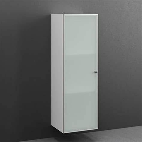 cabinet 122x40 2 shelves frosted glass