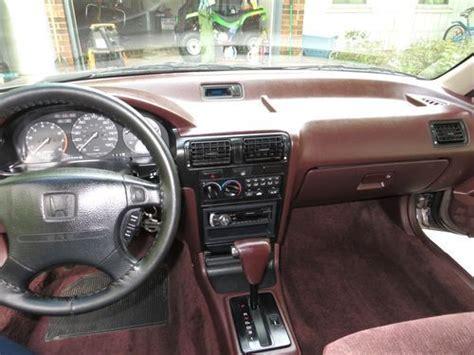 sell used 1992 honda accord ex 4 door sedan low mileage nice sunroof automatic in winston
