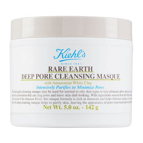 Masker Kiehl S kiehl s earth pore cleansing masque 125ml feelunique