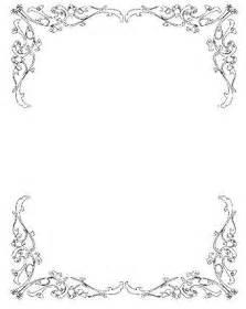 Newspaper Wedding Programs Wedding Invitation Clip Art Borders Free Clipart Pin It Pinterest