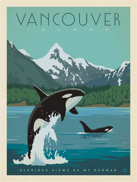 poster design vancouver anderson design group world travel canada vancouver