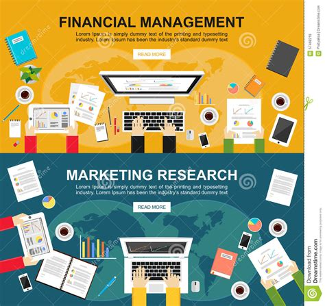 Design Management And Marketing | banner for financial management and marketing research