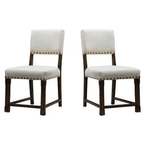 Restoration Hardware Nailhead Chair by Vintage Nailhead Upholstered Side Chair Dining