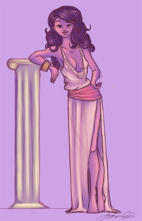 goddess aphrodite cartoon aphrodite by shimmerstar on deviantart