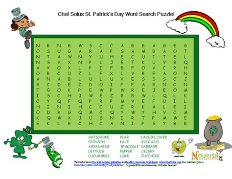 printable word search nutrition printable easy crossword puzzles march 2013